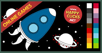 Online Coloring Games For Toddlers And Preschoolers Painting Rocket Free Fun