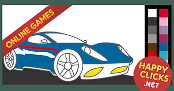 Online Coloring games for Preschoolers and Toddlers. Painting Car ...