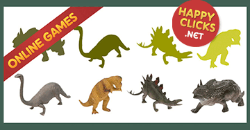 Drag and Drop Preschool Game: Play Dinosaurs Shapes Game!
