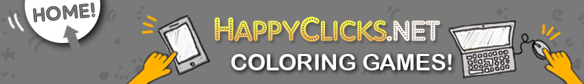 Online Coloring Games for Toddlers and Young Kids