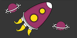 Online Coloring games for Toddlers and Preschoolers. Painting Rocket. Free and fun!