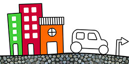 Online Coloring games for Toddlers and Preschoolers. Painting City. Free and fun!