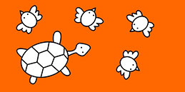 Online Coloring games for Toddlers and Preschoolers. Painting Turtles. Free and fun!