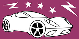 Online Coloring games for Toddlers and Preschoolers. Painting Car. Free and fun!
