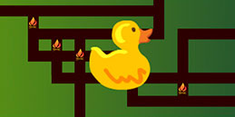 Duck Maze! Free online maze games for toddlers and preschool kids