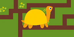 Turtle Maze! Free online maze games for toddlers and preschool kids