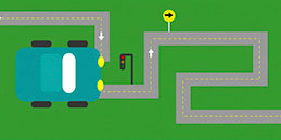 Maze games for kids to play: Car Maze
