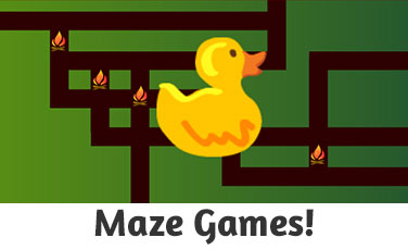 Maze Games for Kids!