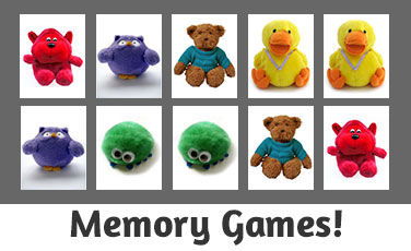 Memory Games for Young Kids!
