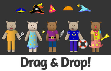 Drag and Drop Games for Preschoolers!