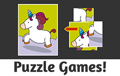 Puzzle Games for Young Children!