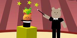 Baby games online: Boris The Magician!