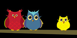 Games for babies: The Peepers Owlies