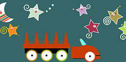 Online Games for Toddlers: Travelling Stars