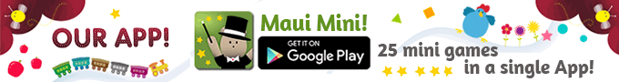 Maui Mini Games - Educational App for children 1, 2, 3, 4, 5 year old!