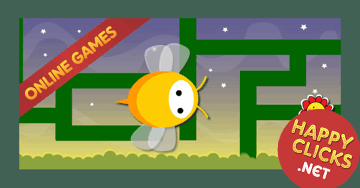 Maze games for children: Bee Maze
