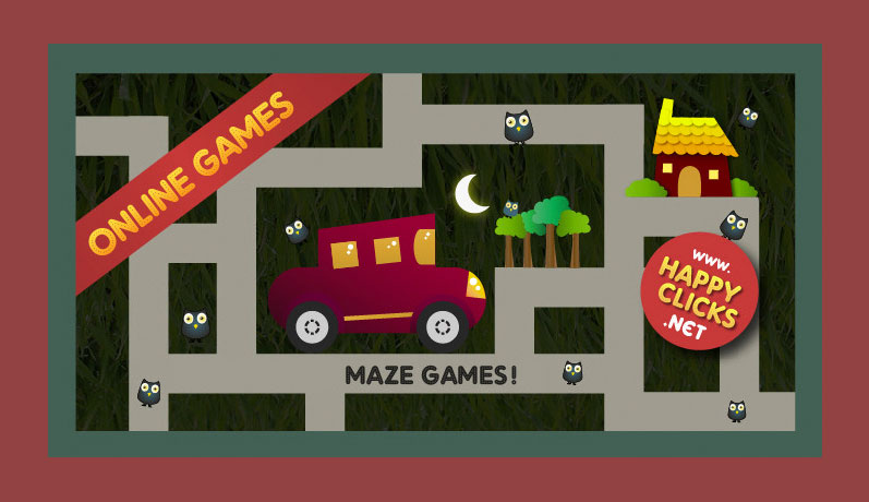 Maze Games For Kids Happy Clicks