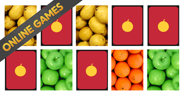 Preschool Games for Kids: Patterns and Fruits Game
