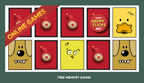 MEMORY GAMES ONLINE FOR KINDERGARTEN KIDS