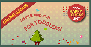 Move the mouse game for kids: Christmas Tree Game