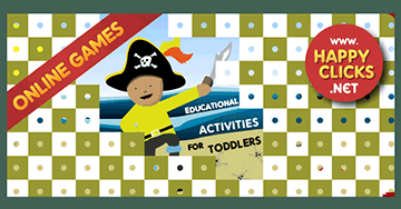 Free preschool games: Pirate Boy