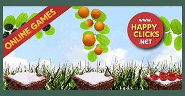 Preschool games free online: Drop the fruits!