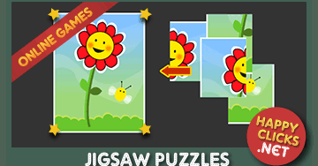Play Flower Puzzle Online For Free 4 Pieces Jigsaw Puzzle For Children