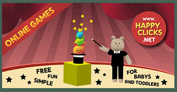 Games for Toddlers: Boris The Magician
