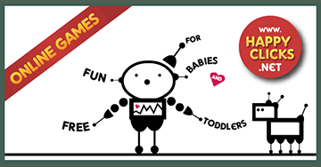 Online Games for Toddlers and Babies: Tom Robot
