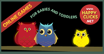 Free Games for Toddlers and Babies: The Peepers Owlies