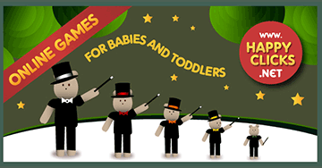 Games for Toddlers and Babies: The Hats Show!