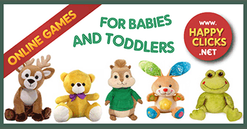 Games for Toddlers and Babies * Forest animals