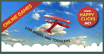 Free Games for Toddlers: Planes in the sky!