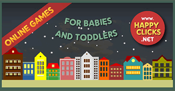Games for Toddlers to play online using keyboard or the