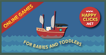 Games for Toddlers: Colorful Ships