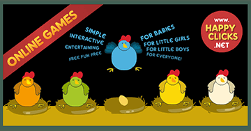 Games for Toddlers and Babies: Play Chickens and chicks