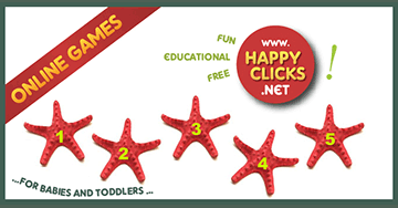 Online Games for Toddlers: Learning numbers 1 to 10!