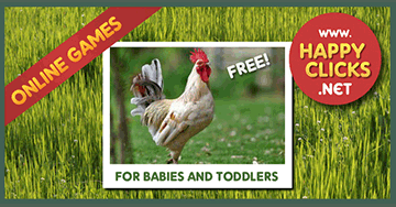 Online Games for Toddlers and Babies: Play with Animal Sounds!