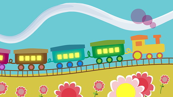 Colorful Train! Videos for Babies and Toddlers